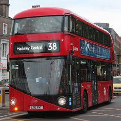 New Routemaster, Hackney Central, Bus Route, Bus Coach, London Bus, London Transport, Volkswagen Bus, Transportation, Automobile