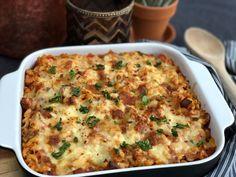 macaroni ovenschotel met smac - Familie over de kook Macaroni And Cheese, Health Tips, Menu, Favorite Recipes, Healthy Recipes, Dinner, Ethnic Recipes, Food, Mushroom