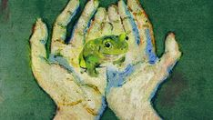 """roguetelemetry: """"here is a froggo for your dash """" Animated Gifs, Frog Pictures, Frog Art, The Embrace, Cute Frogs, Frog And Toad, Character Aesthetic, Love Art, Collage Art"""