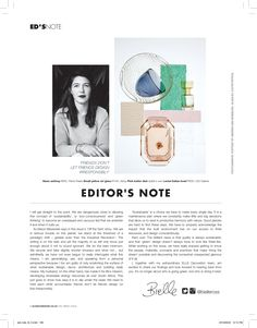 Magazine Page Layouts, Magazine Layout Design, Identity, Magazine Design Inspiration, Magazine Editor, Magazine Spreads, Notes Design, Beauty Book, Publication Design