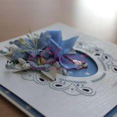 Karta pamiątka chrztu dla chłopca. Karty ręcznie robione. #KartyRęcznieRobione