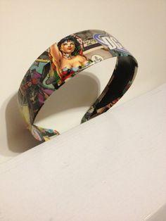 Girl power DC headband by JoelyYoungDesign on Etsy, $5.00