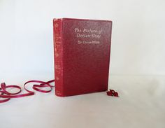 """The Picture of Dorian Gray by Oscar Wilde / Early 1910 """"Copyright Edition"""" Charles Carrington, Paris / Leather Binding, Contents Good by BumperBoxofDelights on Etsy"""