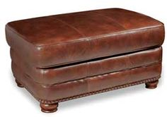 Stanton Leather Ottoman $394 at American Furniture Warehouse. Sofa, loveseat, and chair available.