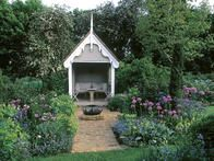 Early summer blooms are cool in the garden. Color can have more impact on the landscape than any other design element. Annual flowers can provide landscaped areas with more seasonal variety and colorful accents than most other plants.