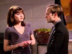 Frasier- Niles and Daphne:    Niles: [about Maris] She's been afraid to fly since her harrowing incident. Daphne: Oh, dear... Did a plane almost crash? Niles: No, she was bumped from first class. She still wakes up screaming.