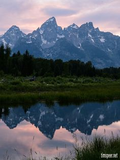 Grand Tetons National Park, Wyoming.