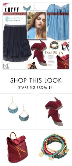 """""""Enter contest Draft Saved Open New        WomenMenHomeMy ItemsCollectionsContestFrames×Shoes×shoes laying×Mary Cheffe...×Headliners 3×Colors× Celebrate Your Shape: Curvy Style"""" by mcheffer ❤ liked on Polyvore featuring Bobbi Brown Cosmetics, Nude by Nature, contestentry, TheCurvyCon and MyDiaStyle"""