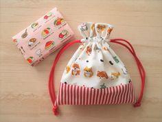 可愛い‼裏地付き!!繋いで作る巾着袋(コップ袋)の作り方|ソーイング|編み物・手芸・ソーイング|ハンドメイド | アトリエ