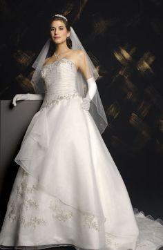 vestidos de noiva com luvas