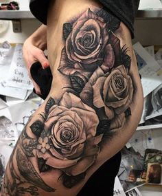 Sexy Roses Tattoo