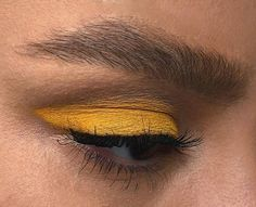 art, eyes, tumblr, yellow