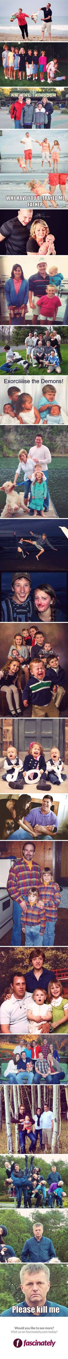 18 Family Photos Gone Wrong… The third ones got me dead😂😂