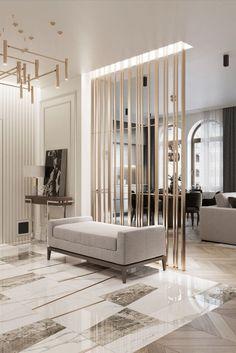 Home Room Design, Interior Design Living Room, Living Room Designs, Living Room Decor, House Design, Bathroom Interior, Living Room Partition Design, Room Partition Designs, Flur Design