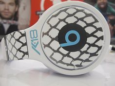 Custom lacrosse inspired Beats by Dre for Kyle Harrison (Pro lacrosse player)