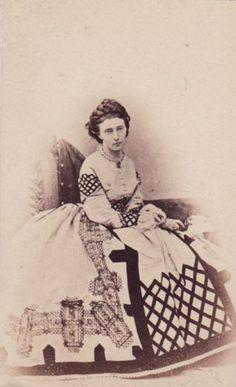 "Queen Olga of Württemberg,neé Grand Duchess Olga Nikolaevna Romanova of Russia.  ""AL"""