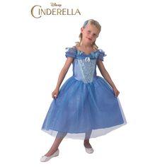 Déguisement Cendrillon Live Action – Disney™ #déguisementsenfants #costumespetitsenfants