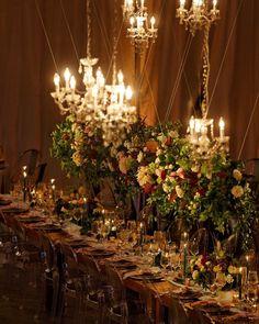 Somer Khouri & Lisa Costin (@acharmingfete) • Instagram photos and videos   #wedding #acharmingfete #realweddings #outdoorwedding #weddinginspriration #decor #florals #moody #moodywedding #dreamy #chandeliers Wedding Receptions, Real Weddings, Lisa, Ceiling Lights, Photo And Video, Table Decorations, Chandeliers, Videos, Florals