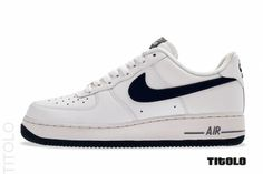 Nike Air Force 1 Low - White/Midnight Navy