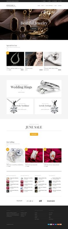Jewelrica - eCommerce WordPress Theme • Download ➝…