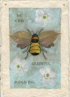 ≗ The Bee's Reverie ≗  Painting in Pajamas: April 2010