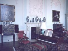 Ragley Hall , Music room