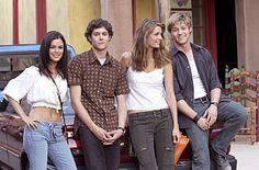 Cast of O.C. Rachel Bilson, Adam Brody, Mischa Barton, Benjamin McKenzie