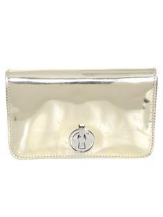Metallic Turnlock Mini Bag Accessories