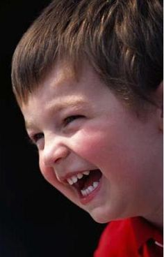 Children laughing is a joyous noise...