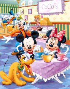 by Florynda del Sol ღ☀¨✿ ¸.ღ☀¨✿ ¸.ღ☀¨✿ ¸.ღ Arte Do Mickey Mouse, Mickey And Minnie Love, Mickey Mouse Cartoon, Mickey Mouse And Friends, Disney Mickey Mouse, Mickey Mouse Wallpaper Iphone, Disney Wallpaper, Iphone Wallpaper, Minnie Mouse Pictures