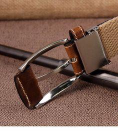 Fashion Men's Canvas Belt