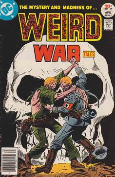 Weird War Tales #52 / Cover Art By Joe Kubert