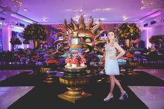 Decoração festa Tomorrowland - Foto: Romariz Studio
