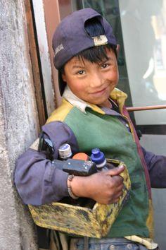 Cool dudes in Ecuador, South America