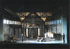 Of Mice and Men. Opera Australia. Scenic design by John Stoddard. 2011