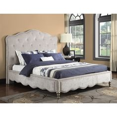 Emerald Home Furnishings B201C-1 Starry Night Upholstered Bed