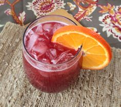 Sparkling Cherry Apple Juice with Natural Calm + NutraRev. Yum!