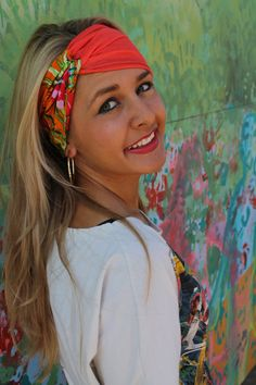COMBO Turban Twist Headband, Jersey Stretch, Bohemian accessory, workout yoga hairband,  Earwarmer, Spring Summer Womens by Angelika Gale on Etsy, $10.00 Great for after surgery!