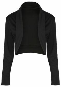 Amazon.com: Lindy Bop Vintage 1950's Fifties Rockabilly Style Jersey Shrug Bolero Top: Clothing