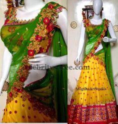 Colorful Mugdhas Half Saree