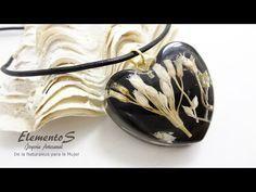 Joyería con Resina y Naturaleza encapsulada. Jewelry with Resin and Encapsulated Nature - YouTube