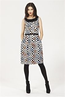 TONGUE IN CHECK  Dress-trelise cooper-Trelise Cooper