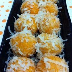 Sweet Potato Mochi