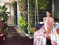 Parineeti Chopra's Home : A Paradise on Earth Parineeti Chopra's Home : A Paradise on Earth,Celebrity Girlfriends Home : The girl has been a talk of the town for having a toned-body. Indian Home Interior, Asian Home Decor, Interior And Exterior, Interior Design, Interior Ideas, Balcony Plants, Parineeti Chopra, Indian Homes, Paradise On Earth