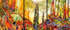 The Magical Rainforest by Heleen Cornet » Curaçao Art