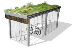 Cycle Shelter with mesh