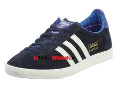 25f1a84e778 Adidas Gazelle OG - Chaussures Adidas Originals Pas Cher Pour Homme Femme  Encre de légende