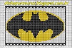 Dinha Ponto Cruz: Batman Ponto cruz