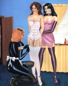 A dominant lady's experiences of forced feminisation and femdom Prissy Sissy, Sissy Boy, Sissy Maids, Feminized Boys, T Art, Tgirls, Erotic Art, Crossdressers, Feminism