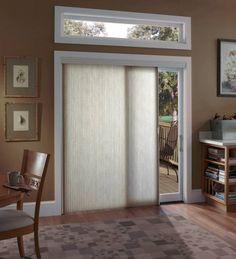 Window treatments for sliding doors hunter douglas window and doors sliding glass door window treatment planetlyrics Image collections